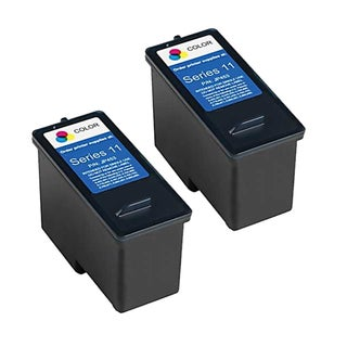Remanufactured Dell CN596 948/ V505 Series 11 High Capacity Color Ink Cartridges (Pack of 2)