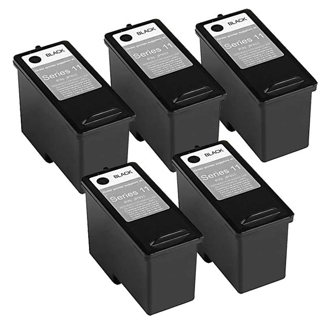 Black,2-Pack AB Volts Remanufactured Ink Cartridge Replacement for Dell CN594 for V505 A948