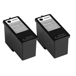 Remanufactured Dell CN594 948/ V505 Series 11 High Capacity Black Ink Cartridges (Pack of 2)