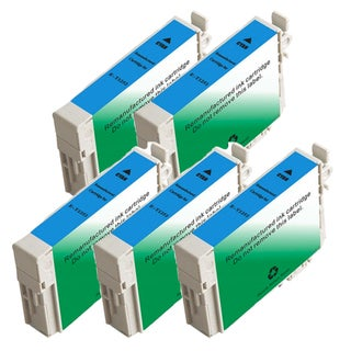 Epson T125220 (T1252) Standard Yield Cyan Remanufactured Ink Cartridge (Pack of 5)