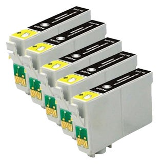 Epson T125120 (T1251) Standard Yield Black Remanufactured Ink Cartridge (Pack of 5)