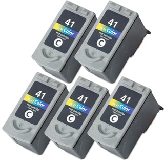 Canon CL41 Color Remanufactured Inkjet Cartridge (Pack of 5)