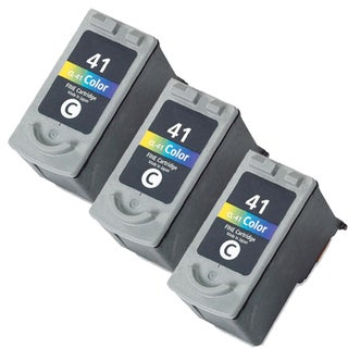 Canon CL41 Color Remanufactured Inkjet Cartridge (Pack of 3)