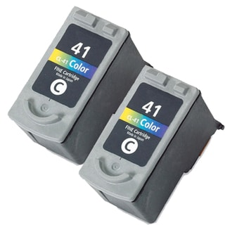 Canon CL41 Color Remanufactured Inkjet Cartridge (Pack of 2)