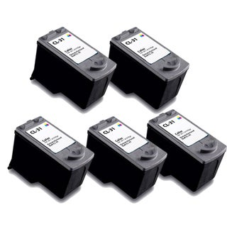 Canon CL31 Color Remanufactured Inkjet Cartridge (Pack of 5)