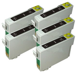Epson T069120 (T0691) Black Remanufactured Ink Cartridge (Pack of 5)