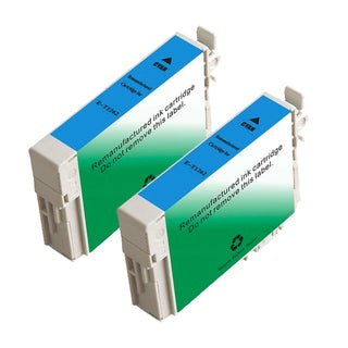 Epson T126220 (T1262) Cyan Remanufactured Ink Cartridge (Pack of 2)