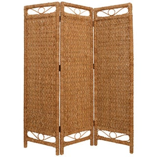 Handmade Cascading Palm 3-Panel Screen (Philippines)