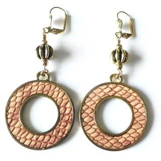 Palmtree Gems 'Dolly' Dangle Earrings