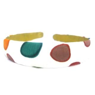 Crawford Corner Shop 3/4-Inch Retro Multicolor Circles Headband