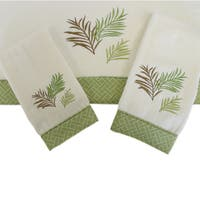 Sherry Kline Sago Palm Decorative 3-piece Towel Set