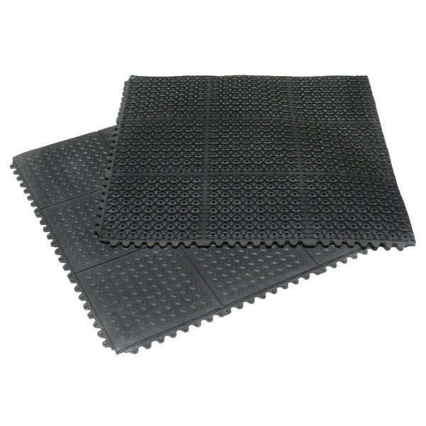 Shop Rubber Cal Revolution Diamond Plate Interlocking 36