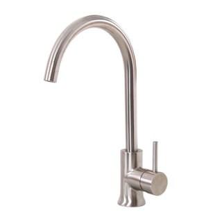 Elite K12SN Satin Nickel Single-handle Kitchen Faucet