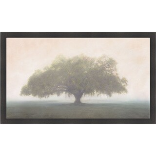 William Guion 'Oak in the Fog' Framed Print