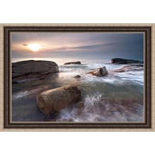 Sergi Mora 'Sea Dreams' Framed Print