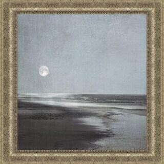 Ily Szilagyi 'Moonlit Beach' Framed Print