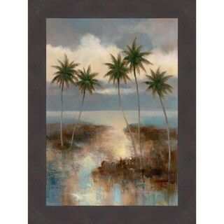 T.C. Chiu 'After the Rain I' Framed Artwork