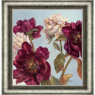 Paul Mathenia 'Peony' Framed Artwork