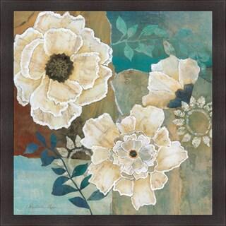 """Charlene Olson """"Flowers At Dawn I"""" Framed Artwork"""