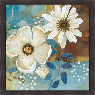 Charlene Olson 'Flowers At Dawn II' Framed Artwork