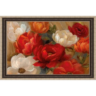 Nan 'Jardin De Corail' Framed Artwork