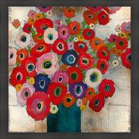Liz Jardine 'Cotton Candy' Framed Artwork