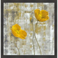 Carol black yellow flowers ii framed artwork free shipping today carol black yellow flowers i framed artwork mightylinksfo Gallery