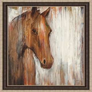 Liz Jardine 'Painted Pony' Framed Artwork