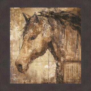 Liz Jardine 'Cavalier' Framed Artwork