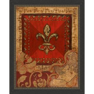 Tava Studios 'Fleur Adorn II' Framed Artwork