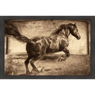Jennifer Broussard 'Free Spirit' Framed Artwork