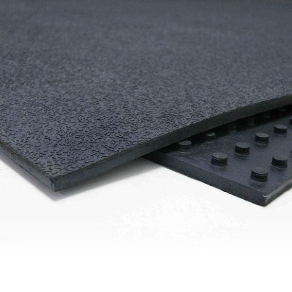 Shop Rubber Cal Tuff Flex Heavy Duty 4 Foot X 6 Foot Black Floor