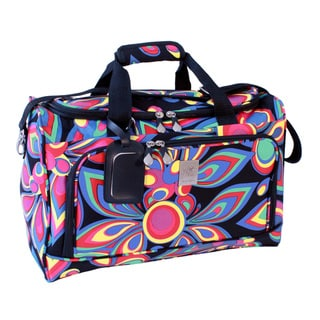 Jenni Chan Wild Flower City 18-inch Carry-on Duffel Bag
