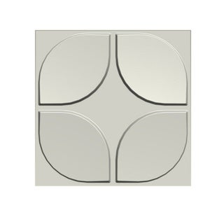 Set of 10 3D Contemporary Wall Panels Flower Design (26.67 square feet)