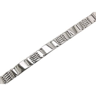 Stainless Steel Gents Box Tooth Bracelet