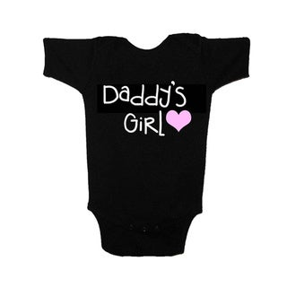 Daddy's Girl Cotton Baby 1-piece Bodysuit (4 options available)