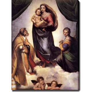Raphael Santi 'The Sisine Madonna' Canvas Art