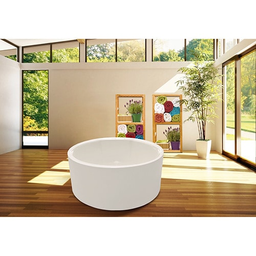 Aquatica PureScape 308 Freestanding Acrylic Bathtub (59.7.