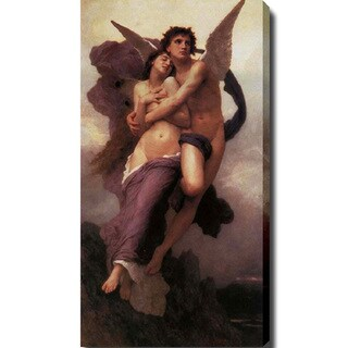 William-Adolphe Bouguereau 'The Ravishment of Psyche' Canvas Art