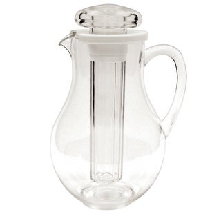 FortheChef 64 Oz. Plastic Water Pitcher with Ice Tube
