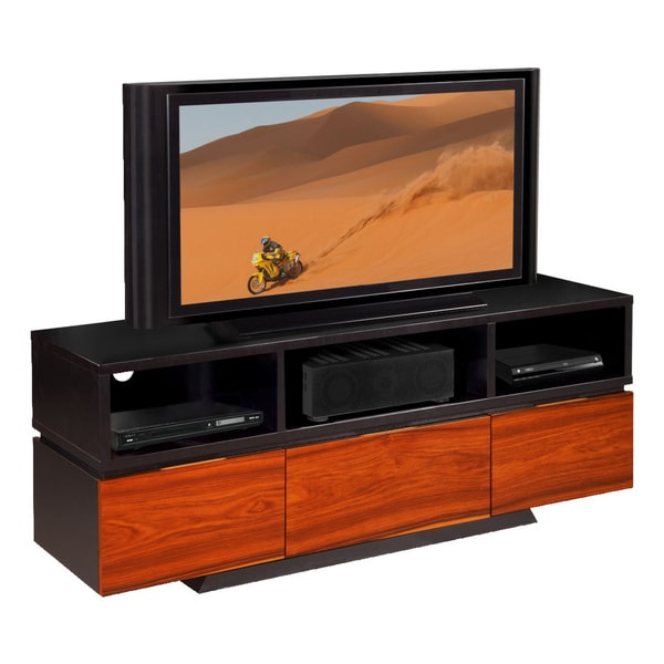 rio wood 65 inch tv console free shipping today 15558358. Black Bedroom Furniture Sets. Home Design Ideas