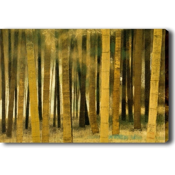 'Fall Forest' Canvas Print Art - Multi