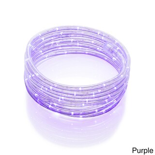 Meilo Creation 16' LED Rope Light with True-Tech 360-degree Directional Shine (Option: Purple 16-foot LED Rope Light)