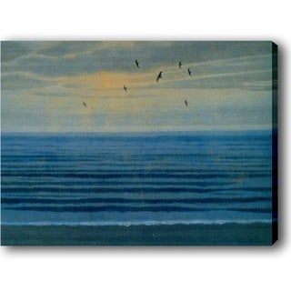 'Blue Ocean' Canvas Print Art