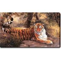 'Tiger' Canvas Print Art - Multi
