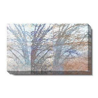 Studio Works Modern 'Winter Branches' Gallery Wrapped Canvas Art