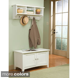 Copper Grove Daintree Coat Hook and Storage Bench Set