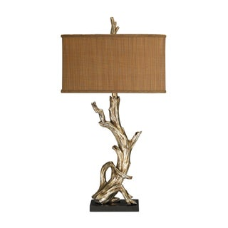 Dimond Lighting 1-light Silver Leaf Table Lamp