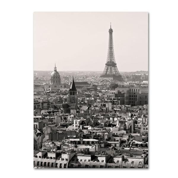 Pierre Leclerc 'Paris' Canvas Art