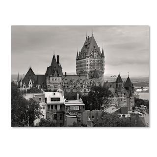 Pierre Leclerc 'Quebec City' Canvas Art
